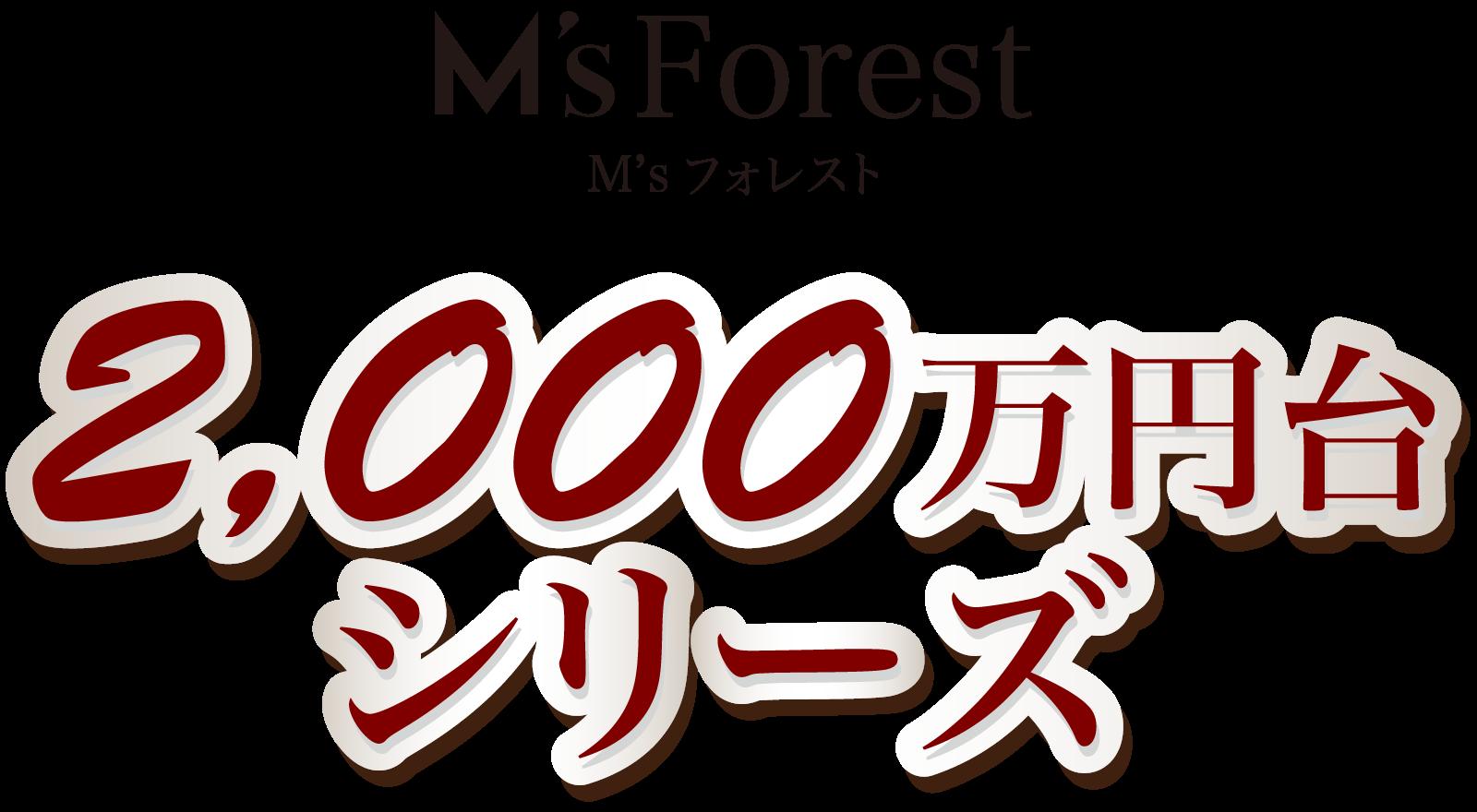 M'sフォレスト 2000万円台シリーズ