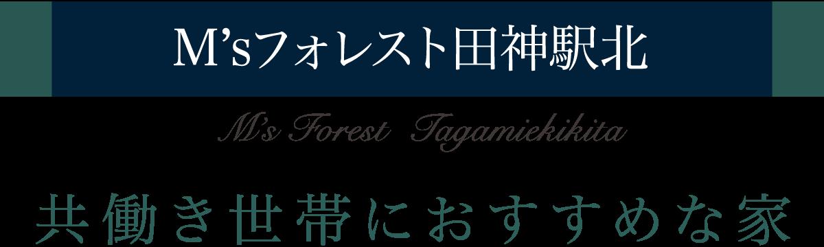 M'sフォレスト田神駅北 / 共働き世帯におすすめな家
